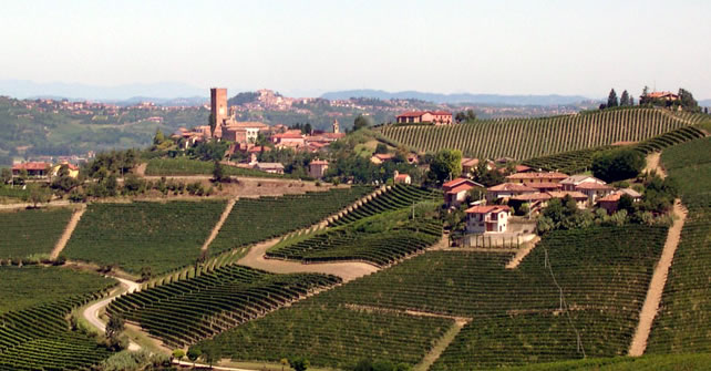 panorama da Barbaresco